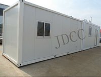 flat packed container house, convenient to ship