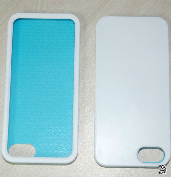 promotional customed simple silicone phone case for Iphone5