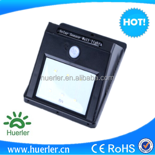 PIR sensor china factory solar garden light solar lamp solar fence light