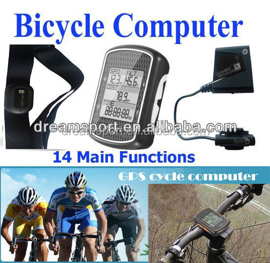 GPS Bicycle Computer Computadora Para Bicicletas Edge 500 support Cycling Powermeter (DCY-180P)