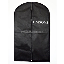 Cheap print foldable quilted garment bag