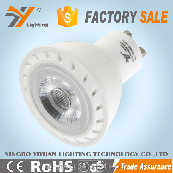 2016 The Latest Design LED Spotlighting led spotlight 7w COB Reflector warm white led light bulb