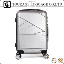 china cheap travel house spinner wheeled winner prince amber plastic luggage set wholesale