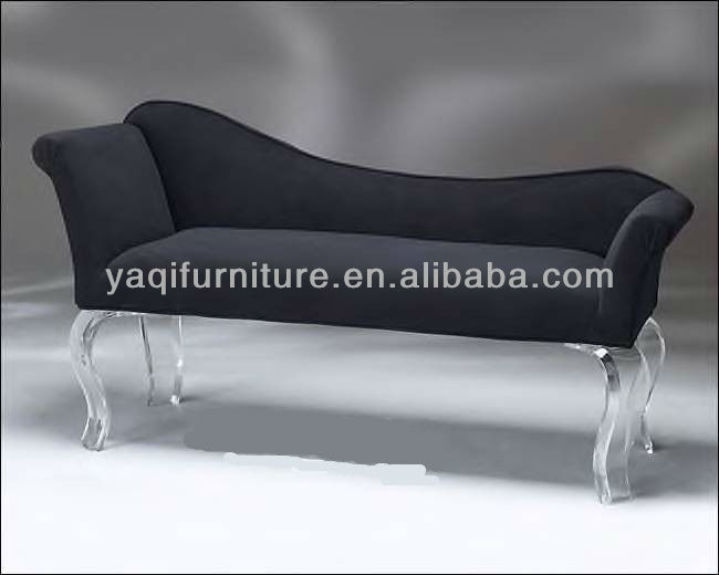 Living Room Acrylic Support Leisure Sofa