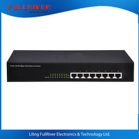 10/100M networking switches best Ethernet Switch 8 port POE Switch 52V