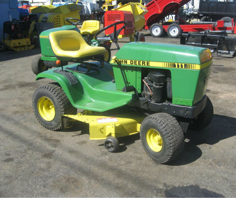 Free John Deere 111 Lawn Tractor Manual
