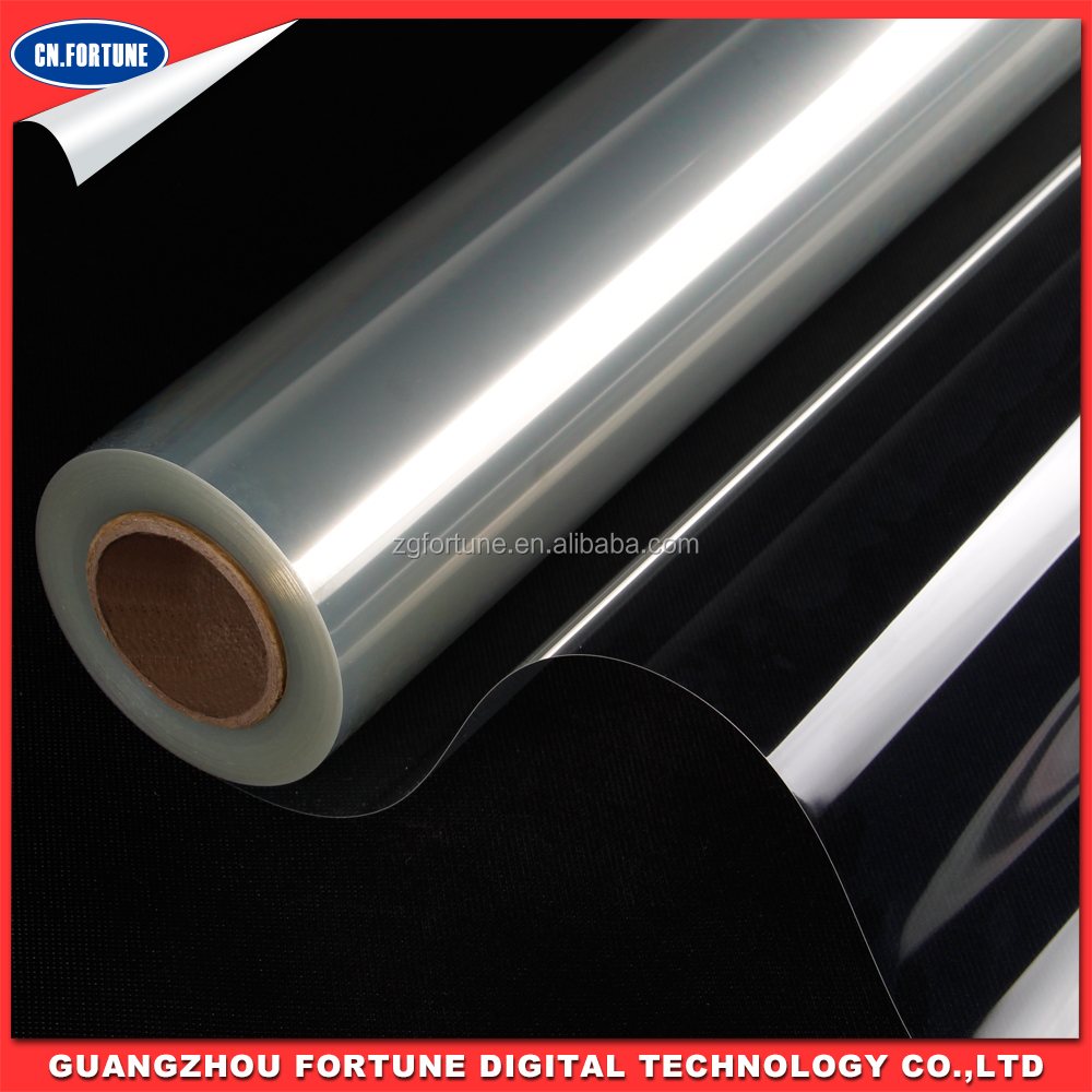 Eco-solvent Transparent PET Film for advertising material