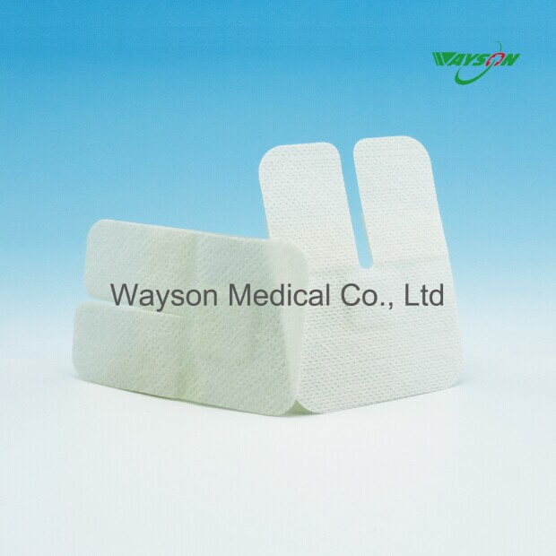 Sterilized IV cannula fixator, non woven wound dressing plaster with CE.FDA.ISO13485 approved
