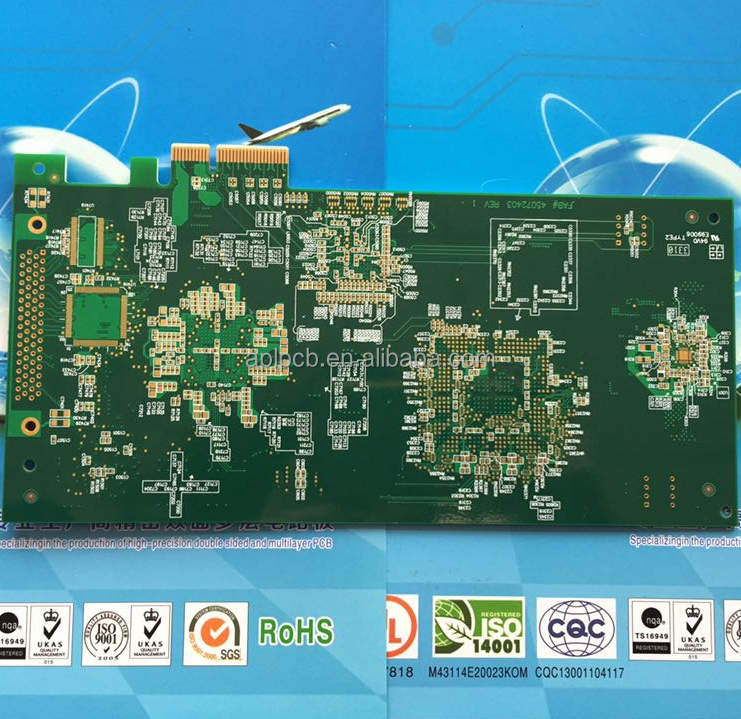 Customized fr4 94v0 rohs <strong>pcb</strong> board multilayer <strong>pcb</strong> manufacturer