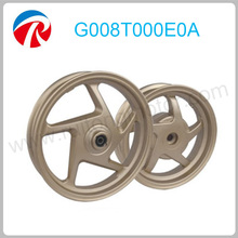 2.15-12 inch motorcycle five star aluminum wheel