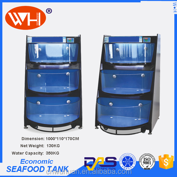 Aquarium Rack For Hotel Restaurant Seawater Fish Lobster Live
