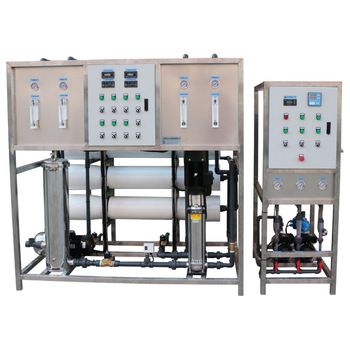 CE/ISO 2T/H EDI high pure water, two stage RO water treatment machine,utrafitration RO system+EDI module for hospital/ lab use