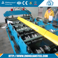 Hot sale single layer aluminum ceiling light steel keel roll forming machine for africa