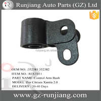352381 352382 automobile control arm bushing for Citroen Xantia X1/X2
