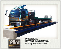 100tons Electronic Modularized Truck Weighing Bridge
