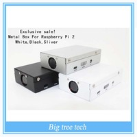 Exclusive sale! Sliver Metal Box - Iron Case For Raspberry Pi 2 With Fan Also Fit For Camera D601 D602 D603