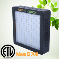 2015 Hot Sales Hydroponics Indoor Grow System Mars II 700 Veg/Flower/Full Spectrum Hydro LED Grow Light Switchable LED Lights