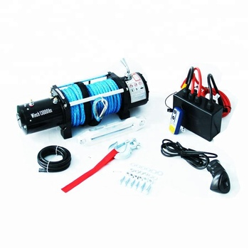 13000 LBS 12v 24v powerful 4x4 electric winch