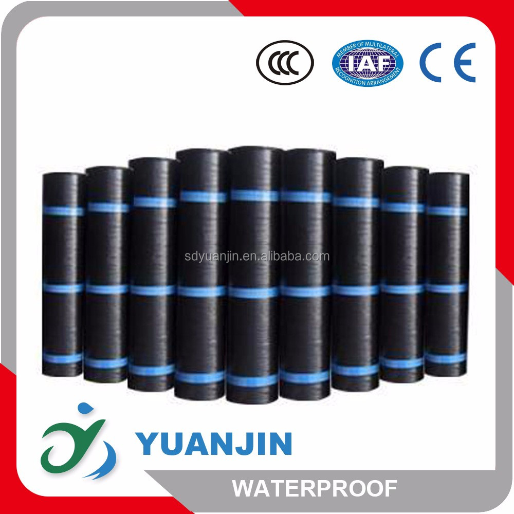 self adhesive SBS modified bitumen waterproof roll