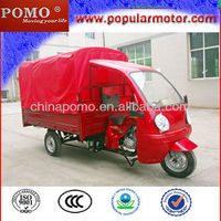 Cheap Water Cool 250cc Gasoline 2013 New Popular Cargo Trike Scoter