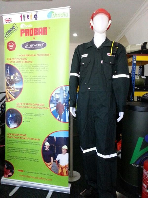 Proban Fire Retardant Coverall