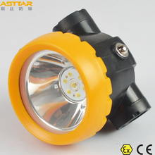KL1.2EX LED cordless miners caplamp and atex certified miners lamp and mining light