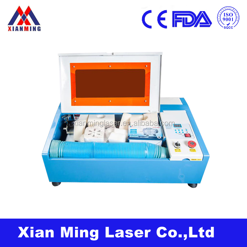 40w used 3D keyboard co2 laser engraving machine manufacturer