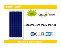 power full poly solar 280w & 280 solar panel