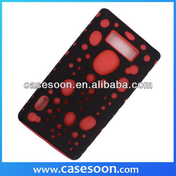 Hybird Glow Bubbles Case Cover For LG Optimus L7 P700 / P705,For LG L7 T mobile Phone Cases