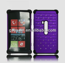 Factory wholesale price Bling deluxe smart phone cover for nokia 920,phone case