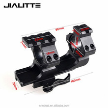 Jialitte Quick Release Scope Mount 25.4mm 30mm Cantilever Scope Picatinny Weaver Single Top Side Rail Ring Rifle Scope J046