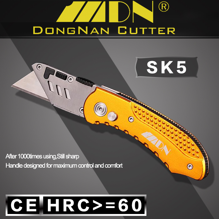 China Manufacturer Excellent Material Powder Matallurgy Stainless Steel Head Mini Folding Knife