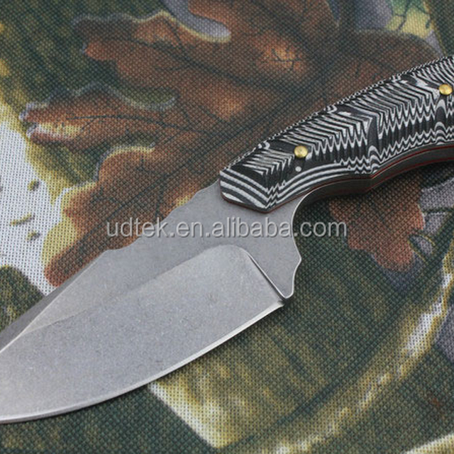 OEM Micarta Handle Material and Stainless Steel survival knife