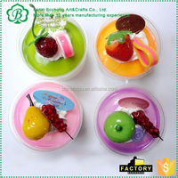 MAIN PRODUCT simple design miniature artificial food with good prices