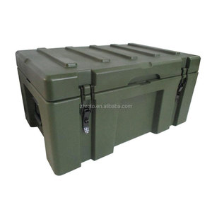 military plastic case box, OEM finished