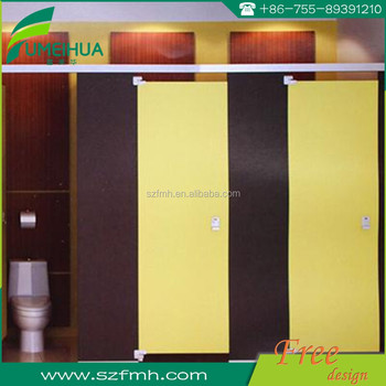 Fumihua waterproof hpl toilet partition board supplier