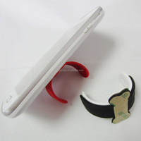 Promotional gift One Touch Wing Design Silicone Phone Stand Holder Rubber Cell Phone Stand/Silicone Smartphone Stand
