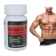 Natural Products Chinese Male Enhancement Pills with Black Maca