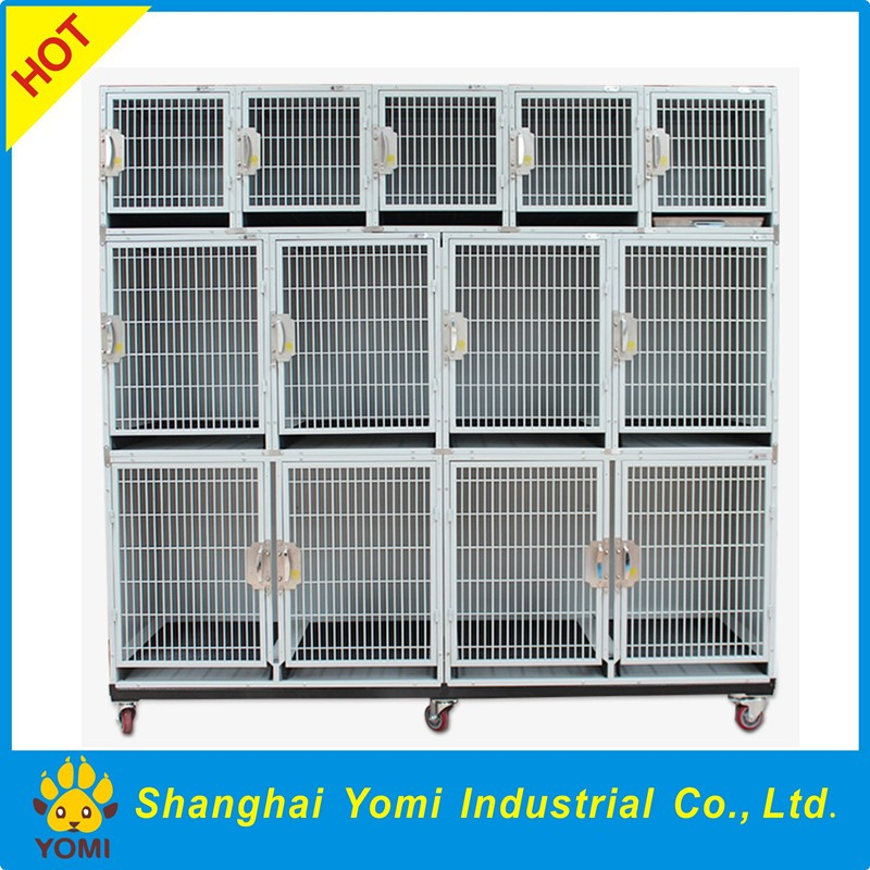 High-quality large iron modular dog kennel