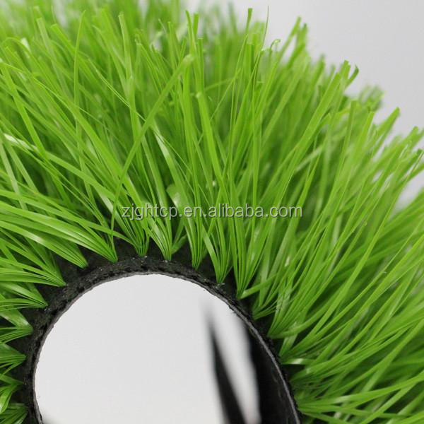 50mm-55mm fire resistant synthetic/artificial grass for soccer field in school /