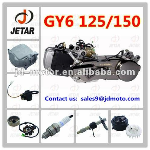 Hot sale Moto Engine for GY6 150CC 4-Stroke Single Cylinder