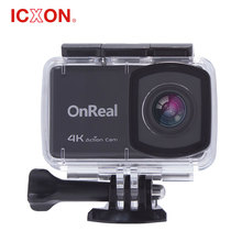 "4k action camera 2.45"" LCD waterproof for sport"