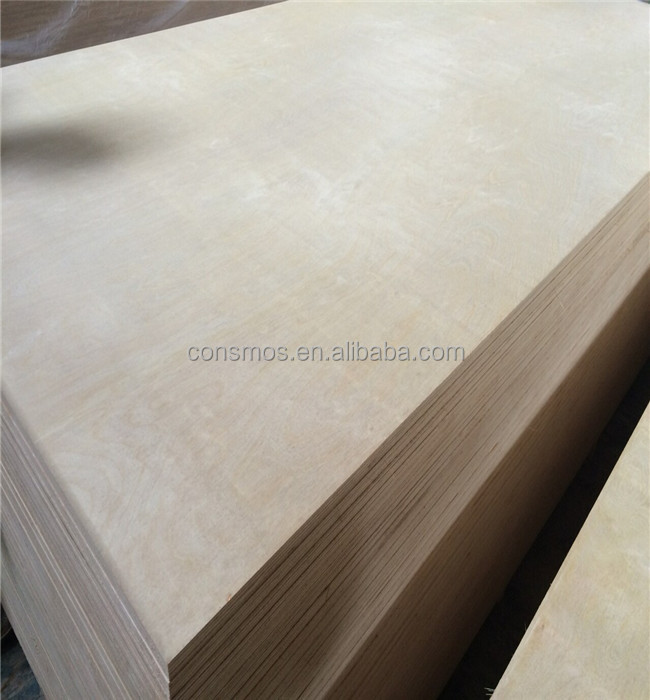 3/4 white birch b2 grade CARB certificated furniture cabinet plywood