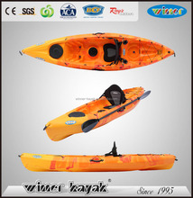 Plastic LLDPE No inflatable sit on top fishing kayak