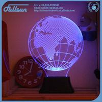 3d globe projection night light FS-2817