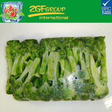 BQF frozen broccoli florets from China in bulk packing