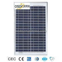 30W Solar Poly Panel for sunpower enery system with high efficiency