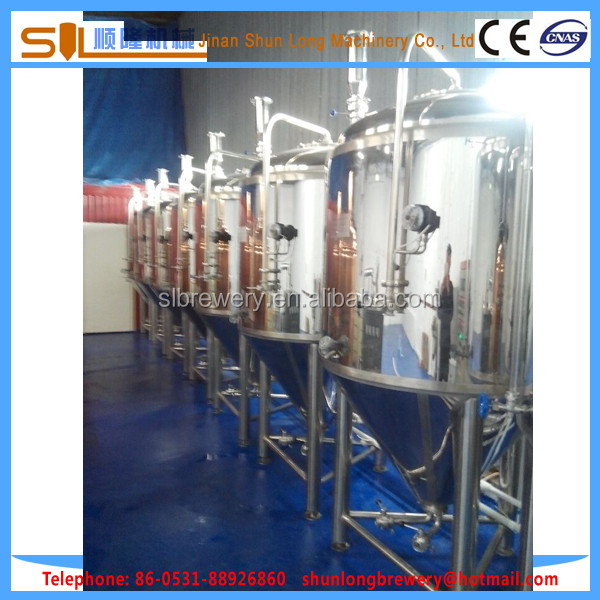 The best investment project 1000l beer brewery equipment popular brewery