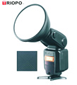 L-880 Dual mode TTL outdoor flash light speedlite with lithium battery