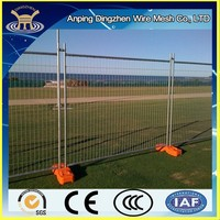 Temporary fence post base Plastic/ Reusable No dig fence China alibaba